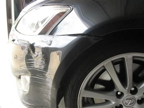 how to remove damage front bumper on a 2012 infiniti qx how much damage front bumper damage club lexus forums