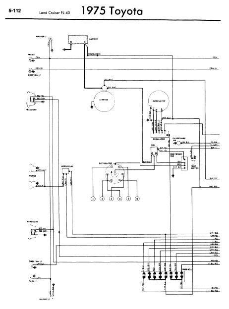 repair manuals toyota land cruiser fj  wiring diagrams