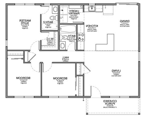 house plan simple house floor plan drawing modern house