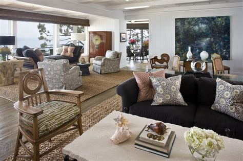 accent rugs for living room how to combine area rugs in an open floor plan