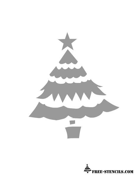 printable christmas decoration stencils ornament printable