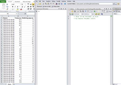 format excel matlab there are 3 columns in the excel file with 8784 rows of