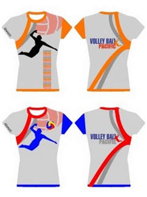 Kaos Baju T Shirt Pacific volly
