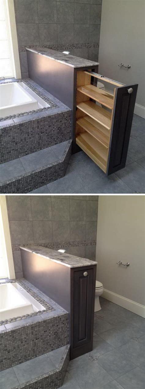 cool bathroom storage 25 creative bathroom storage and organization ideas