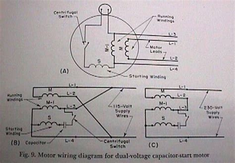 single phase motor wiring diagrams 120 volt get free