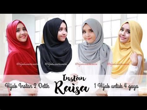 tutorial pashmina instan hijab tutorial pashmina instan raisa 1 hijab 4 gaya by