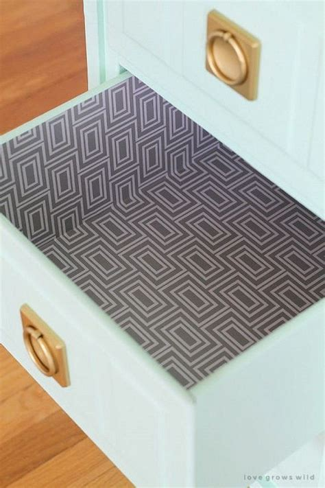 diy drawer liner paper contact paper diy projects