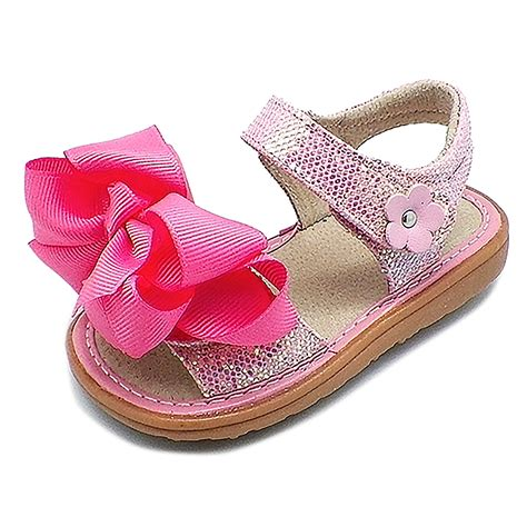 squeaky shoes for toddler ready set bow sandal toddler squeaky shoes mooshu