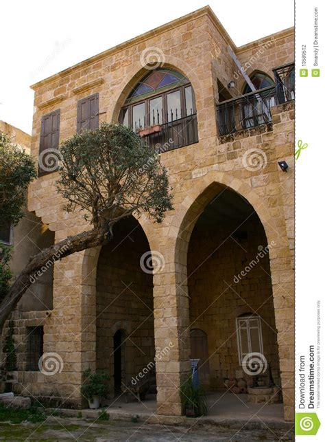 home design gallery lebanon lebanese traditional house in batroun lebanon stock