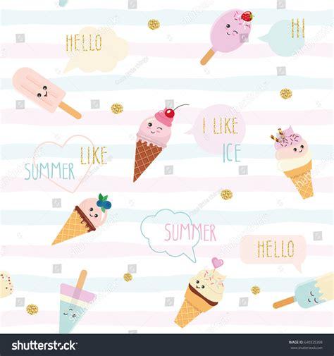 speech pattern en français funny summer seamless pattern background cartoon stock