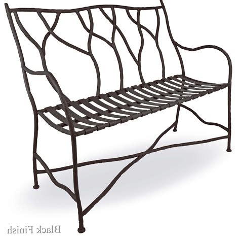wrought iron bench seat wrought iron bench seat home design ideas