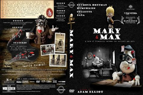 maxcovers dvd gratis mary and max movie dvd scanned covers maryandmax jpg