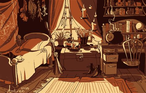 pagan chat rooms day 2 a witch s room by andiree on deviantart