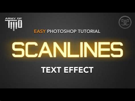 photoshop tutorials pdf in kannada scanlines