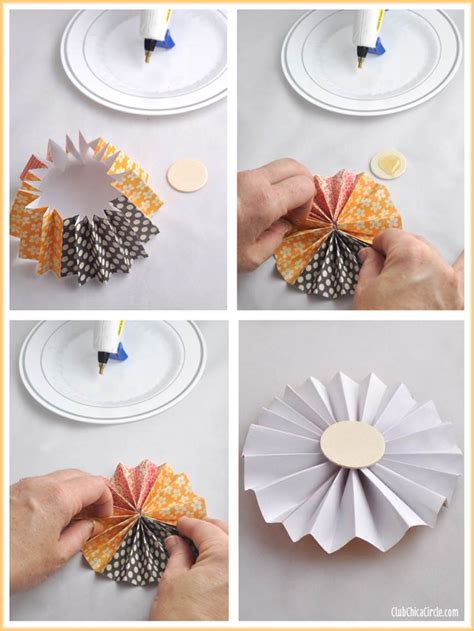 Paper Craft Work Tutorial - thanksgiving paper flower jar gift idea
