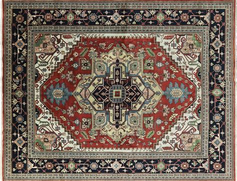 area rugs 12x15 serapi vibrance collection 12x15 navy heriz knotted wool area rug h8124