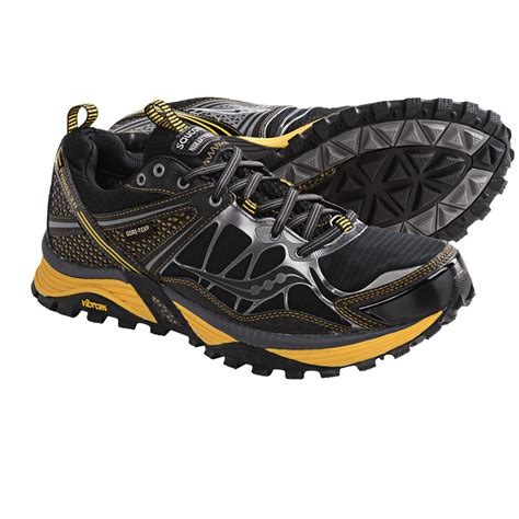saucony waterproof trail running shoes saucony xodus 3 0 tex 174 trail running shoes for