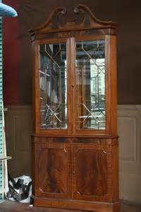 Dining Room China Cabinet Hutch Corner China Cabinet Or Corner Hutch For The Dining Room Ebay