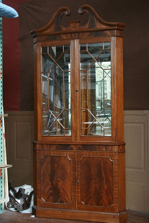corner dining room cabinet corner china cabinet or corner hutch for the dining room ebay