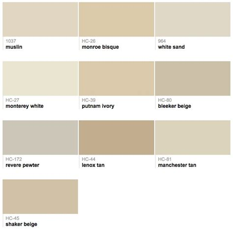 Go In A Neutral by Benjamin Best Selling Neutrals House