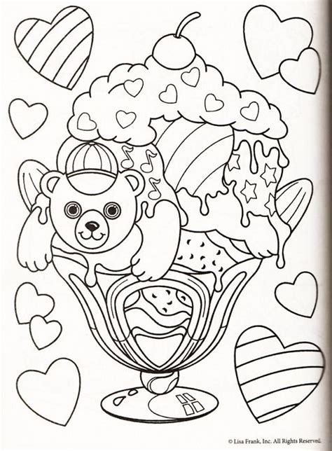 lisa frank halloween coloring pages lisa frank coloring page lisa frank pinterest