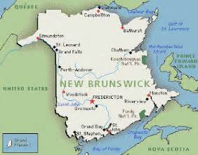 new brunswick on canada map interesting facts interesting facts about new brunswick