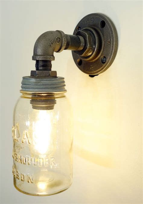 mason jar bathroom light fixture 1000 ideas about mason jar light fixture on pinterest