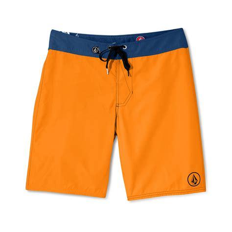 Baju Volcom Crew Orange Original 1 lyst volcom 38er solid boardshorts in orange for