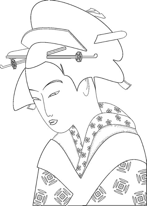 japanese coloring pages japanese traditions and coloring pages page 3