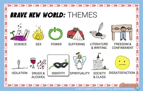 uncommon themes in literature brave new world theme of identity