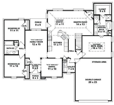 one bedroom one bath house plans three bedroom one bath house plans