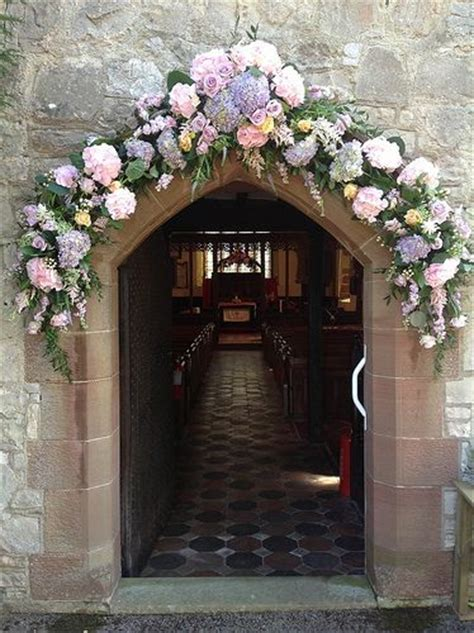 22 best A Welcoming Entrance   Church Wedding Decorations