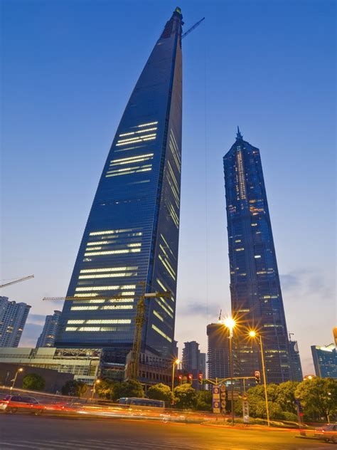 Shed In The World by Shanghai World Financial Center 1614 Ft 492 M 101 Floors