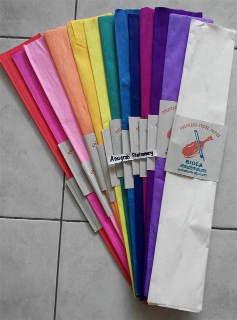 Kertas Krep Merah Putihdekorasihiasan 17 Agustuspentalase jual kertas krep warna warni anugrah stationery