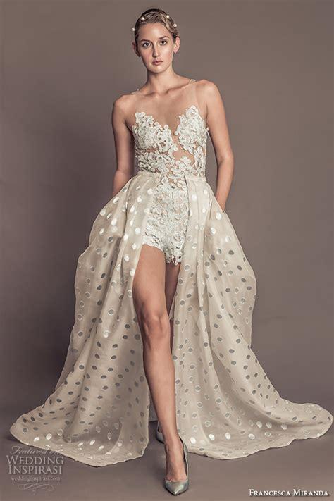 Wedding Dress Romper by Miranda Fall 2016 Wedding Dresses New Year S