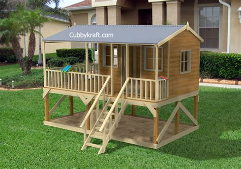 Moon Dance Cubby House Kids Playground Equipment By Cubbykraft
