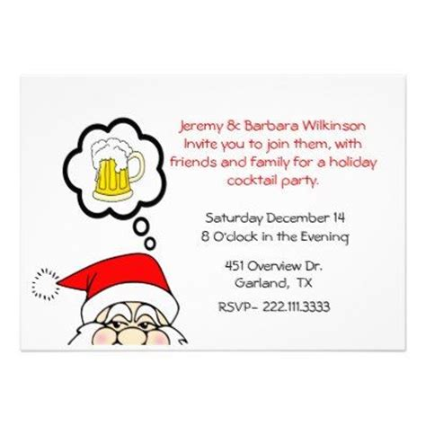8 best funny christmas party invitations images on