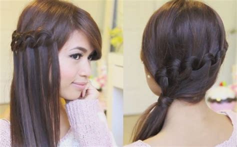 steps of different plate hairstyles ttypes of different hair plates knotted loop waterfall