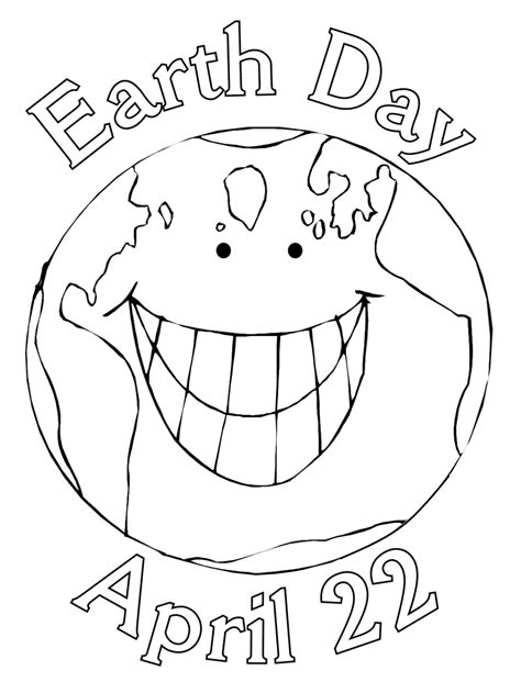 Galerry earth coloring page pdf