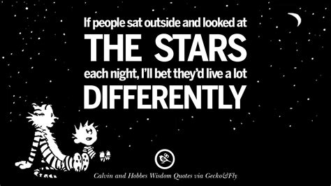 calvin  hobbes words  wisdom quotes  wise sayings