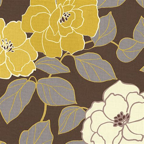 modern floral upholstery fabric brown yellow modern floral fabric modern upholstery