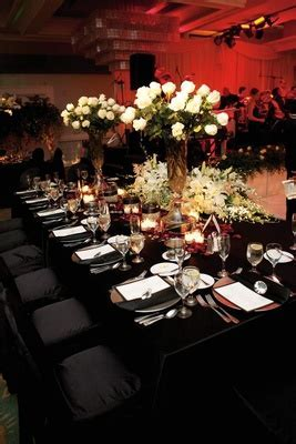 Romantic Red Wedding in San Diego, California   Inside