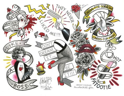items similar to rocky horror picture show tattoo flash