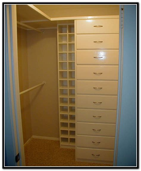 small walk in closet shelving home design ideas