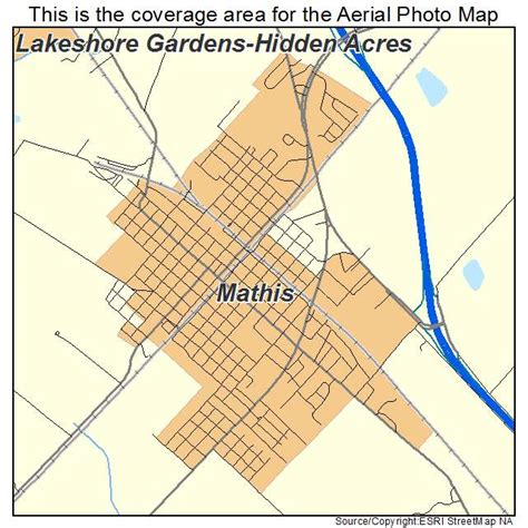 mathis texas map aerial photography map of mathis tx texas