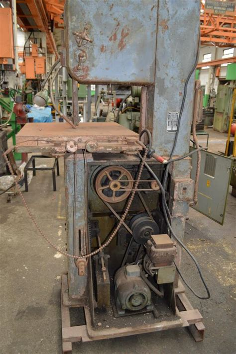 doall metalmaster vertical bandsaw