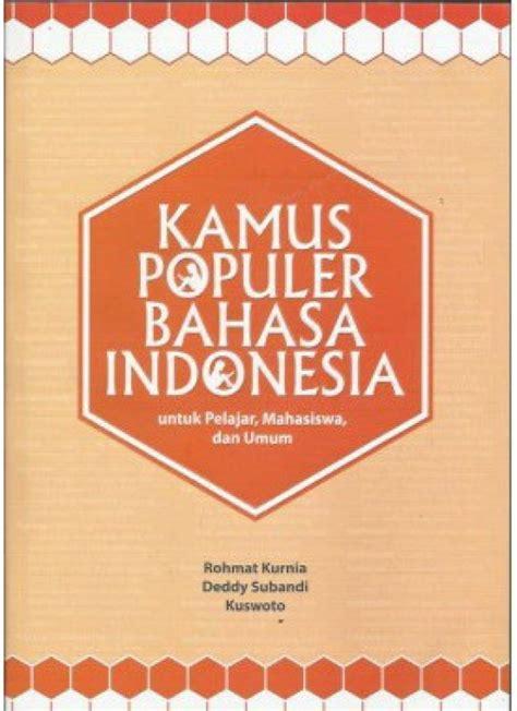 bukukita kamus populer bahasa indonesia