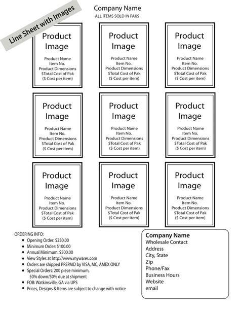 create  wholesale  sheet order form