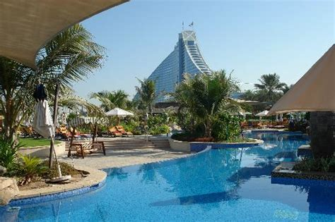 the lap pool at the jumeirah beach hotel oyster com jbh from executive pool picture of jumeirah beach hotel