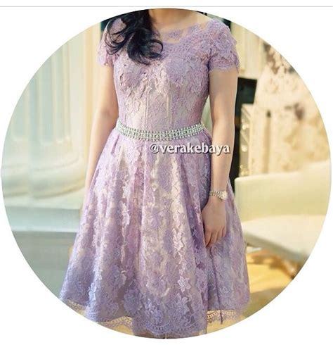 Kebaya Dress vera kebaya purple dress kebaya purple